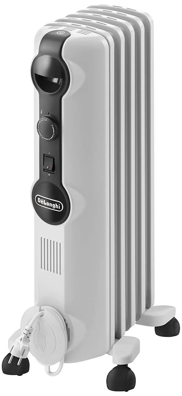 DeLonghi TRRS 0510M Interior Blanco 1000W Radiador - Calefactor (Radiador, Interior, Blanco, Interruptor, Giratorio, 1000 W): Amazon.es: Hogar
