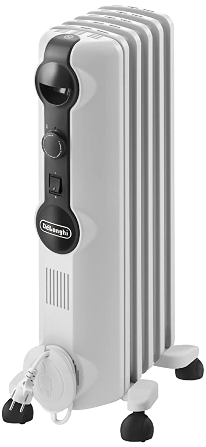 DeLonghi TRRS 0510M Calefactor, Radiador, Interior, Interruptor, Giratorio, Indicadores