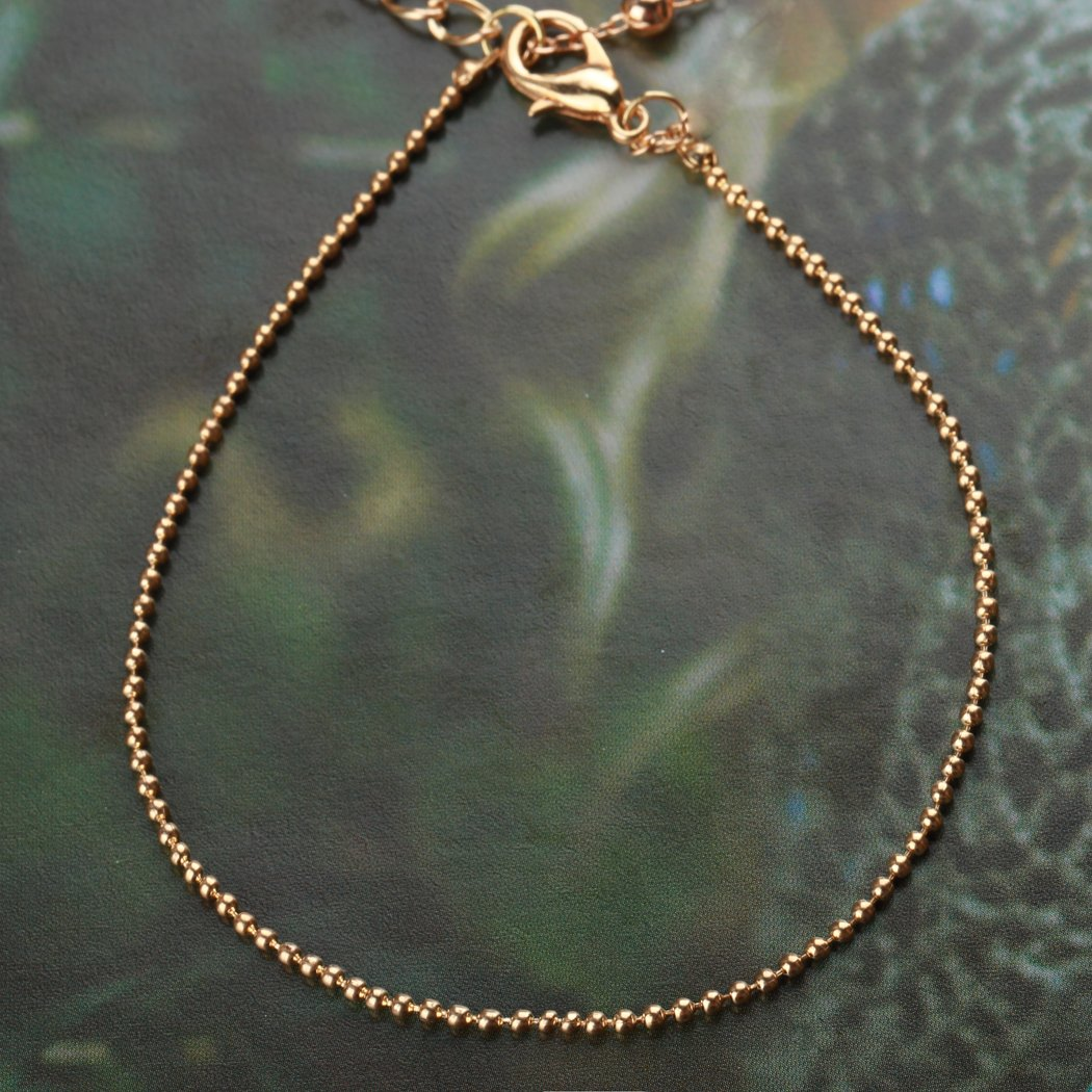 35882f150d89 jovono oro pulsera tobillera playa pie joyería rosa campanas tobillera para  las mujeres y las niñas  Amazon.es  Belleza