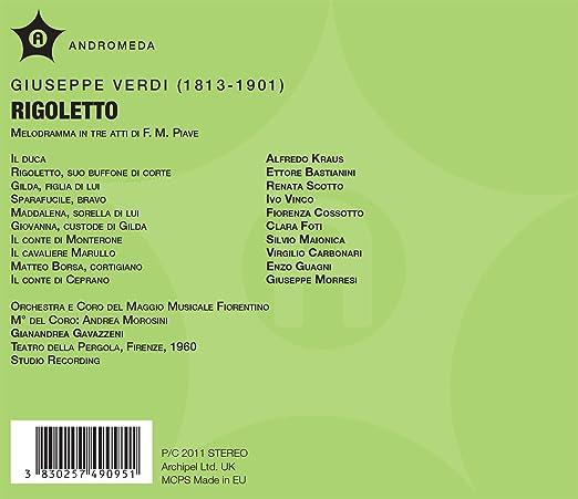 Rigoletto: Kraus, Bastianini: Amazon.es: Música