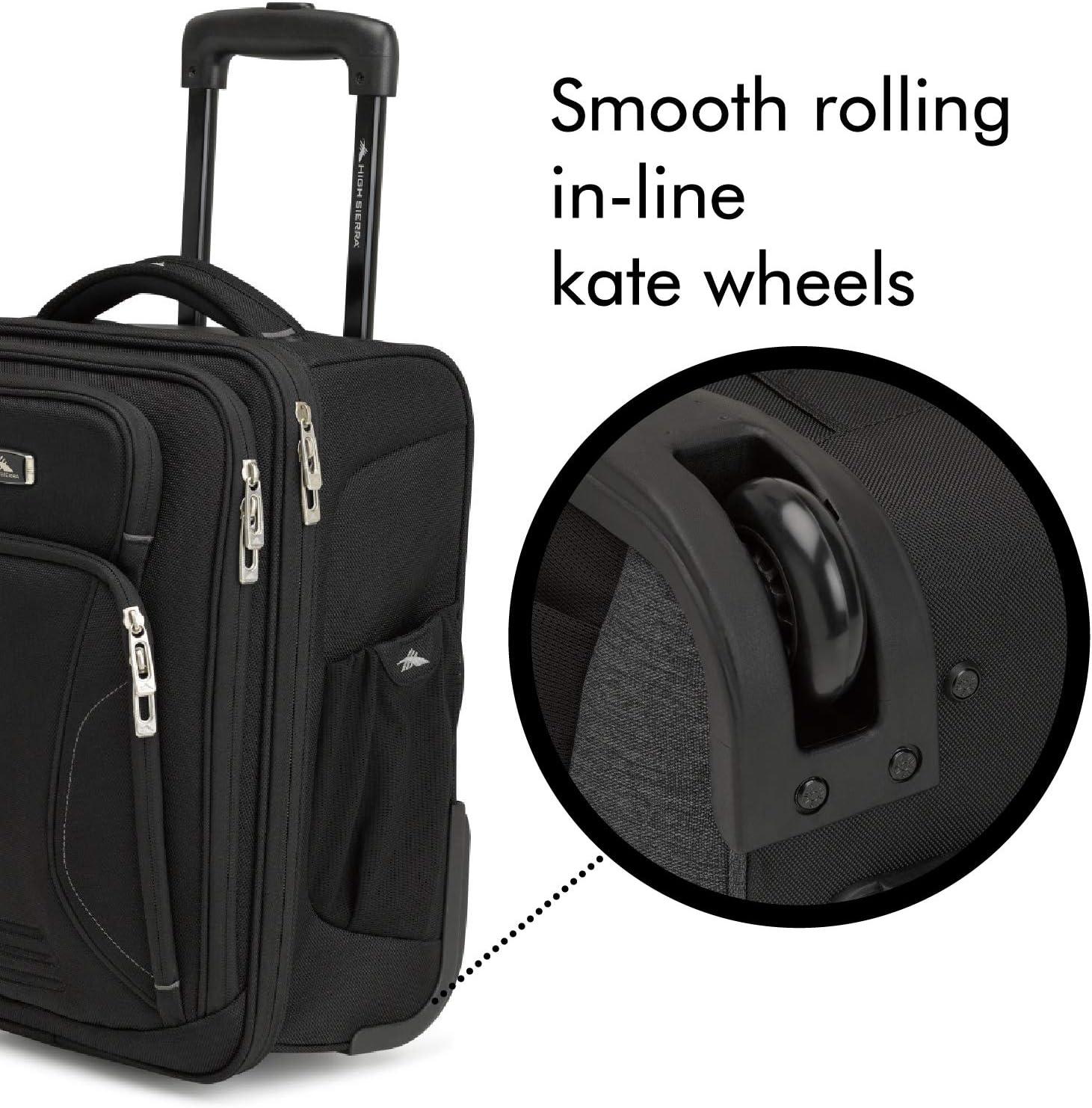 Amazon.com: High Sierra Endeavor - Maleta con ruedas para ...