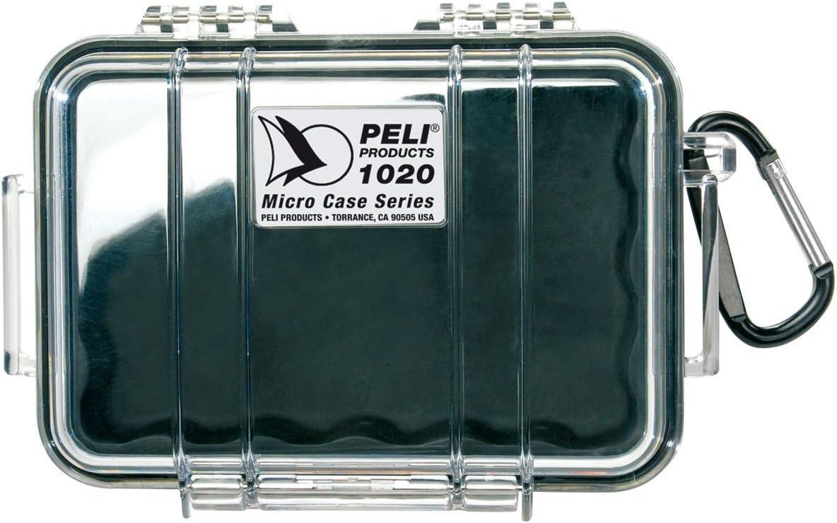 PELI 1020 1020-Caja Micro, Hombre, Negro/Claro: Amazon.es: Electrónica