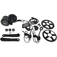 Pswpower Kit de Conversion pour vélo électrique 44TP850C Afficheur Kit de Conversion pour Moteur Central Bafang 48V 500W PEDELEC(Entrepôt Allemand)(AD) BF-BBS02B48V500W-G