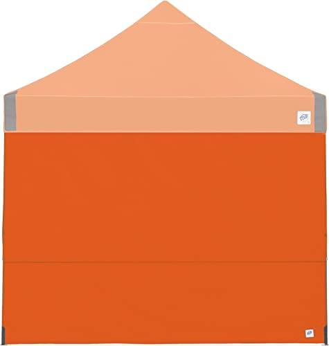 E-Z UP Recreational Sidewall Steel Orange – Fits Straight Leg 10 E-Z UP Instant Shelters