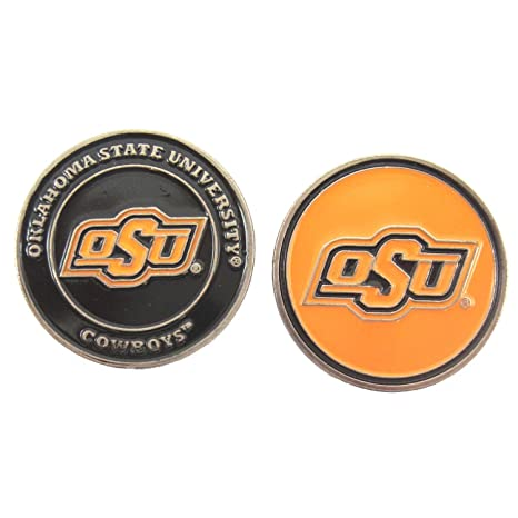 197eacd17e4 Image Unavailable. Image not available for. Color  Oklahoma State Cowboys  Double-Sided OSU Golf Ball Marker