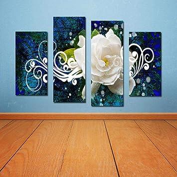 Perfekt North King Kunst Ölgemälde Auf Leinwand Modernes Wohnzimmer Schlafzimmer  Flur Rose Haus Dekoration Wandbilder Für Wohnzimmer
