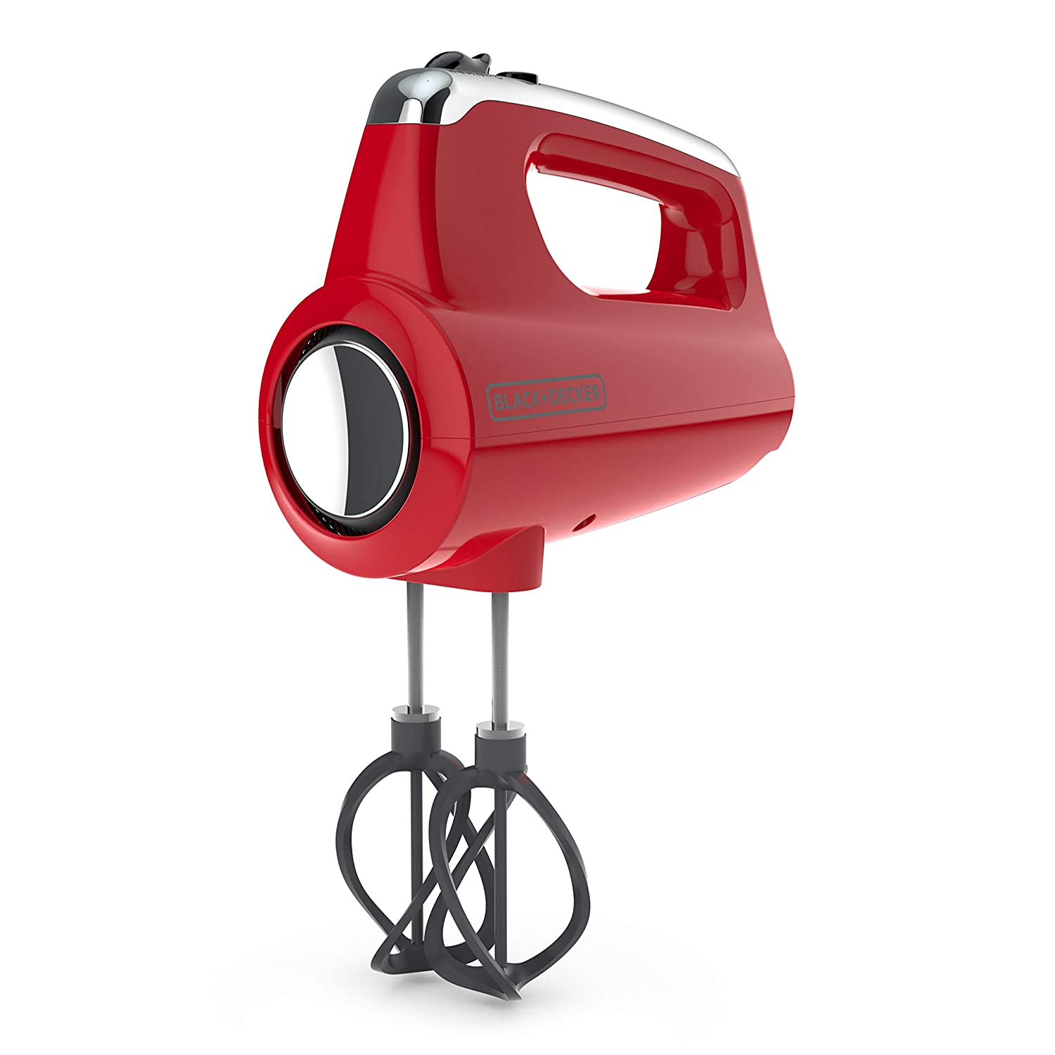 BLACK+DECKER MX600R Helix Performance Premium 5-Speed Hand Mixer Red