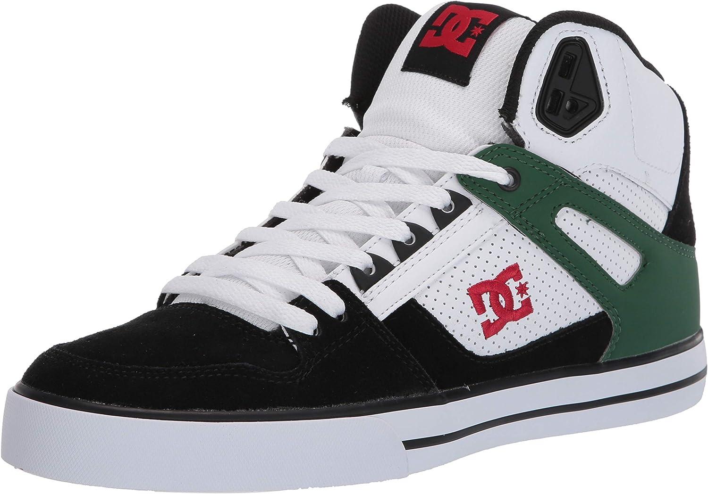 DC Mens Pure High-top Wc Skate Shoe