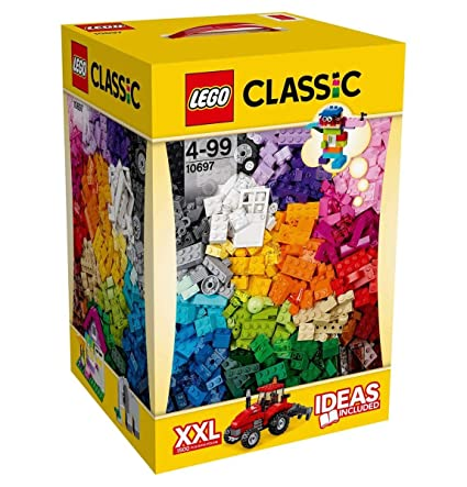 Amazoncom Lego 10697 Building Large Box Creator Xxl 1500 Pieces