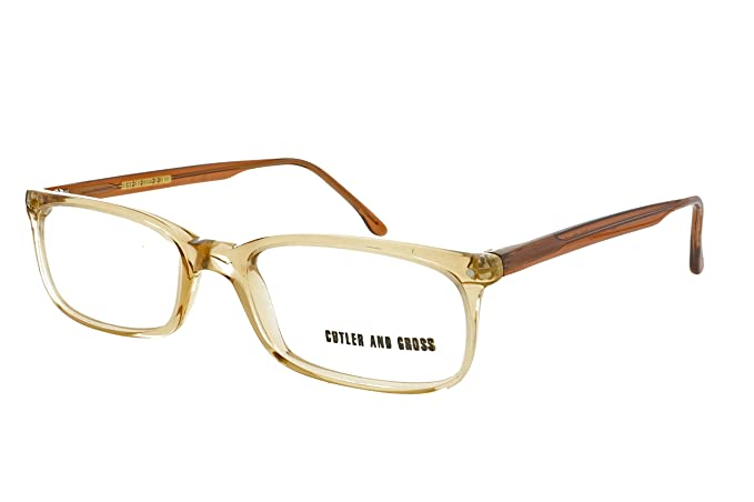 8ab6c107681 Cutler and Gross 488 BR BR Glasses Spectacles Eyeglasses Frame + Case Ex  Display  Amazon.co.uk  Clothing