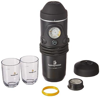 Handpresso Auto Set 48266 Set con cafetera espresso portátil para ...
