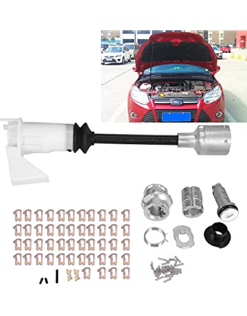 Zerone - Juego de cerraduras de Liberación de Capó para Ford Focus MK2 1343577 2005-