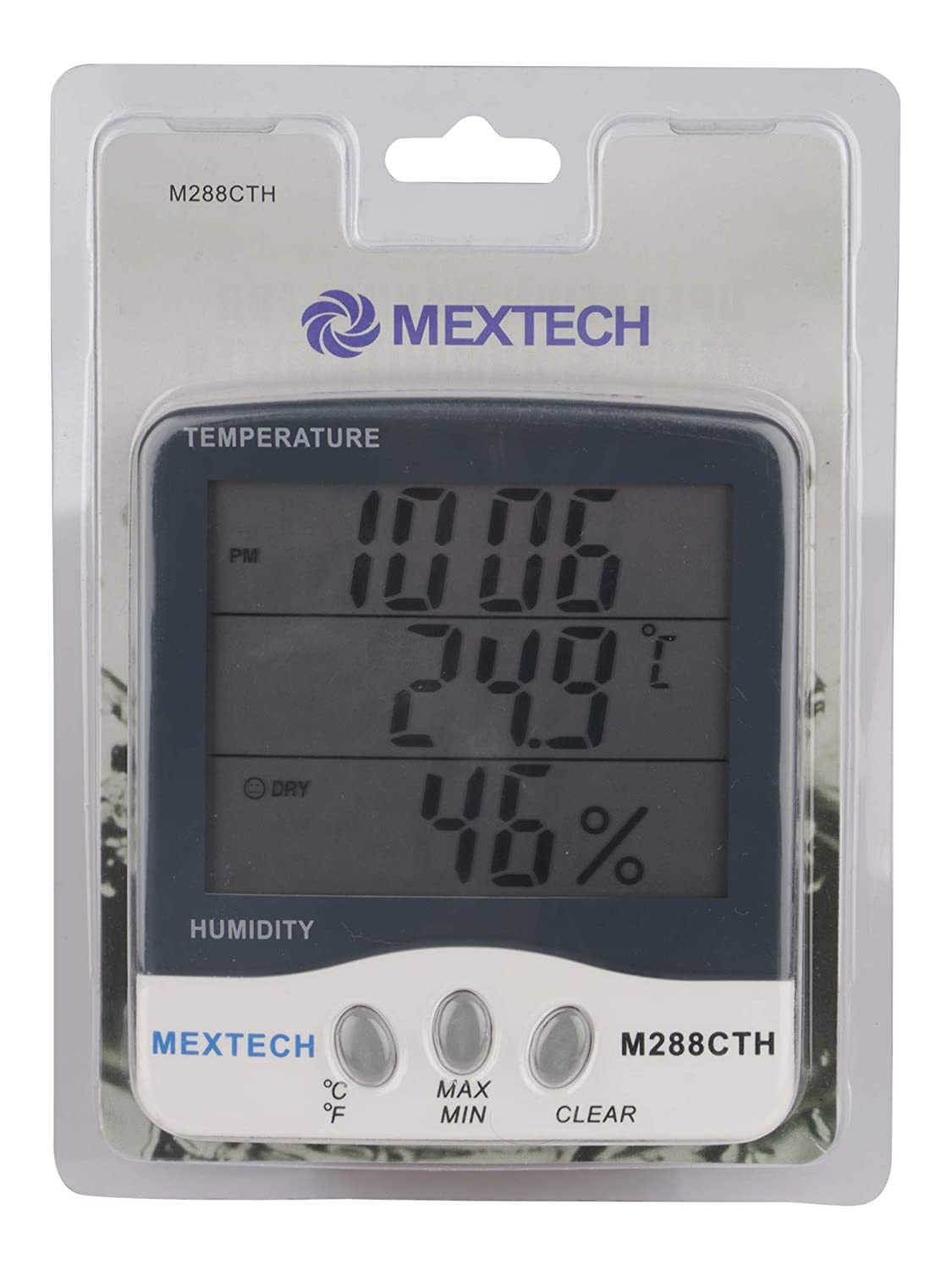Mextech M288CTH Digital Thermohygrometer