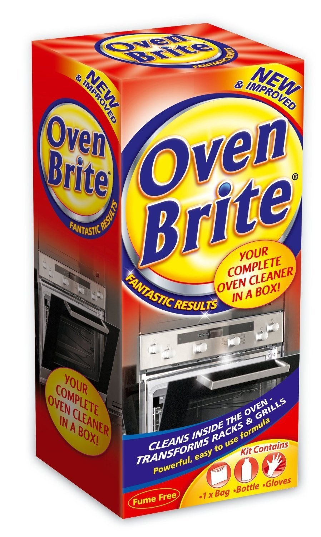 3 X Oven Brite - 500ML - Bottle Bag & Gloves Included - Complete Oven Cleaner