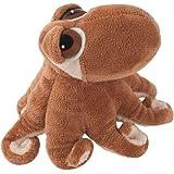 Suki Gifts Li'L Peepers Sealife Creatures Octavius Octopus Soft Boa Plush Toy (Brown/ White)