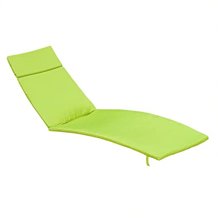 80 X27 5 Green Cushion Pads For Outdoor Chaise Lounge Chairs Set Of 2