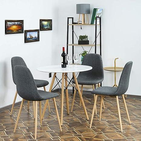 Amazon.com: FDW Juego de mesa de comedor de cocina mesa de ...