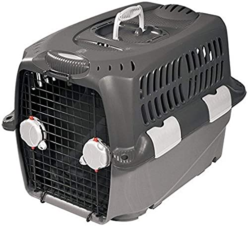 Dogit Cargo Dog Carrier with Gray Base and Top