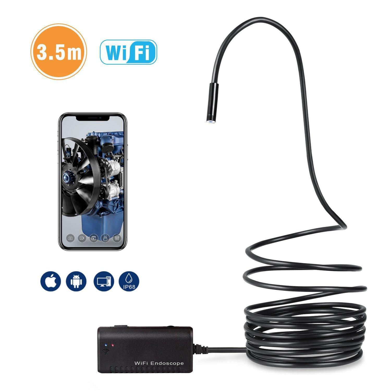 TruePower WiFi Endoscope Camera w/11.5' (3.5m) Cable