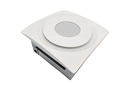 aero pure ap 90 sl g6 w slim fit bathroom fan with 13w led 2700k - Installing A Bathroom Fan