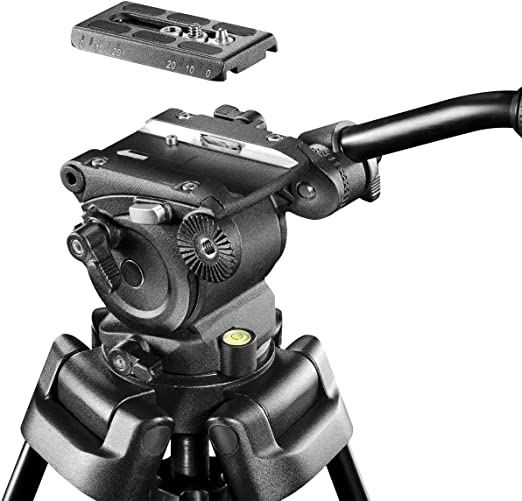 Mantona Dolomit 1100 Videostativ 133 Cm Für Dslr Und Kamera