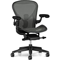Herman Miller Aeron Fully Loaded Ergonomic Office Chair with Graphite Finish