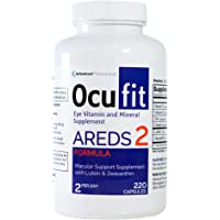 Ocufit AREDS 2 Based Formula Eye Vitamin & Mineral Supplement (220/CT) Free Shipping