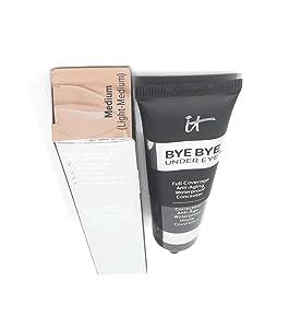 it Cosmetics Supersize Bye Bye Under Eye Waterproof Concealer 1 fl oz. Medium (Neutral Medium)