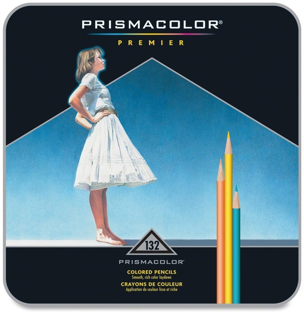 Prismacolor 4484 Premier Soft Core Colored Pencils, 132 Colors, Perfect for Layering, Blending, and Shading - Soft, Thick Cores Create a Smooth Color Laydown, Pigments, Pack of 2 by Prismacolor (Image #2)