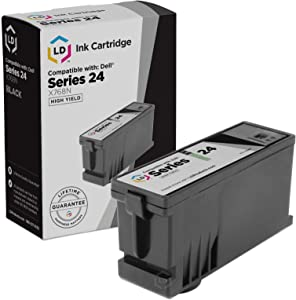 LD Compatible Ink Cartridge Replacement for Dell T109N 330-5287 Series 24 High Yield (Black)