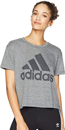 4dfa1268d adidas Women's Boxy Badge of Sport T-Shirt at Amazon Women's ...