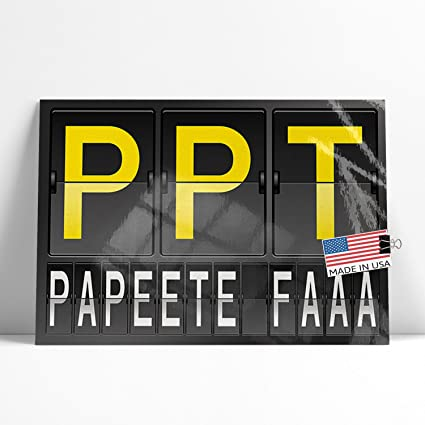 amazon com neonblond large poster ppt airport code for papeete