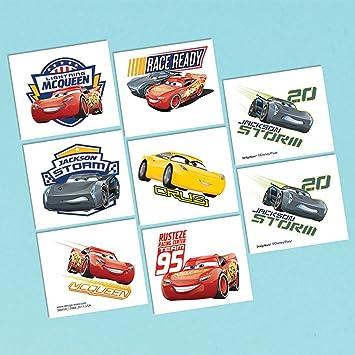 Disney Cars 3 tatuajes: Amazon.es: Juguetes y juegos