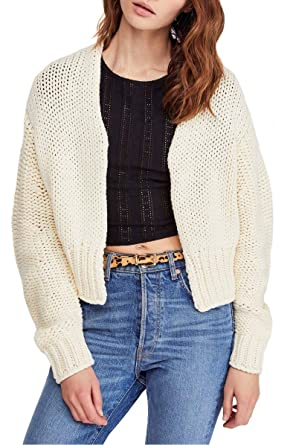 3121bf997f Free People Glow for It Cardi at Amazon Women s Clothing store