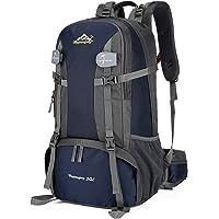 حقيبة خارجية من Andoer 50L حقيبة ظهر للرحلات لمسافات طويلة لتسلق الجبال والسفر والتخييم