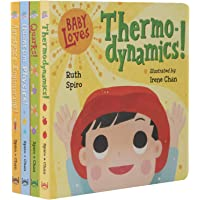 (英文原版) Baby Loves STEM 4册绘本套装 航空 量子 粒子 热力学