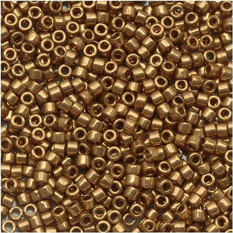 DB022-11//0 Metallic Bronze Delica Beads