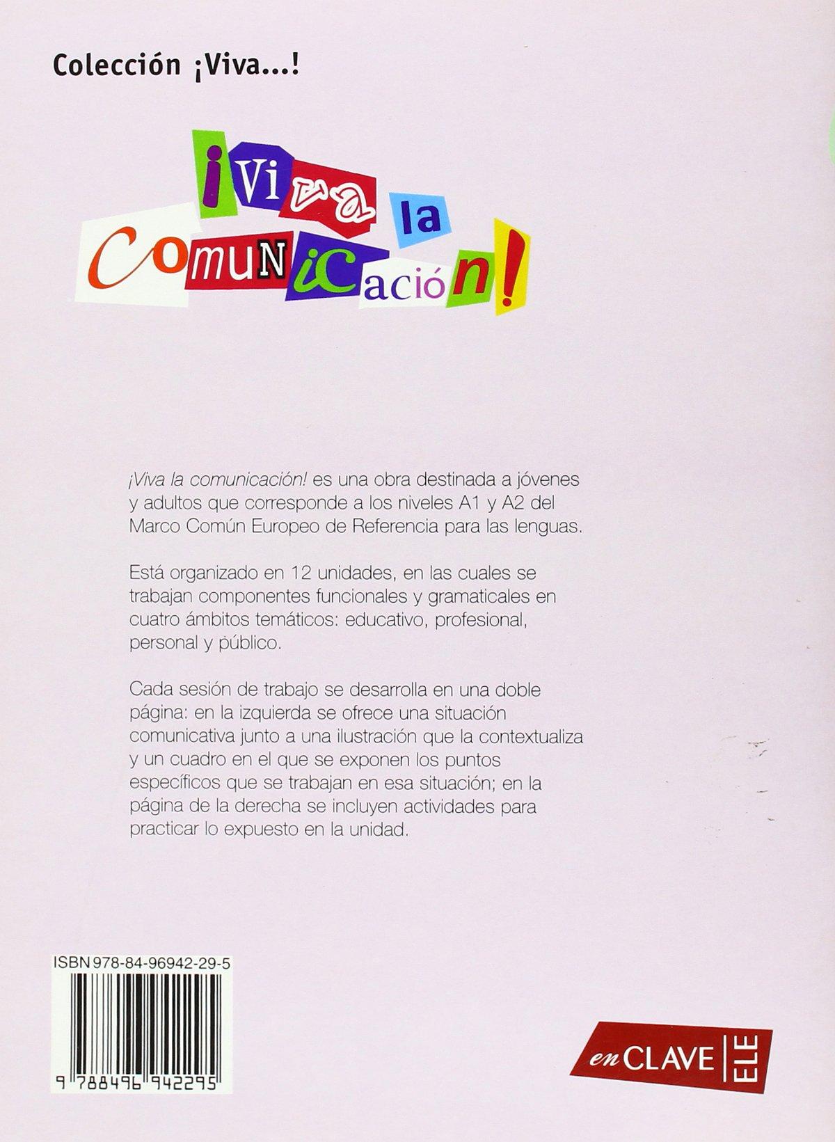 Viva la Comunicacion!- iniciacion Solucionario (Spanish Edition ...