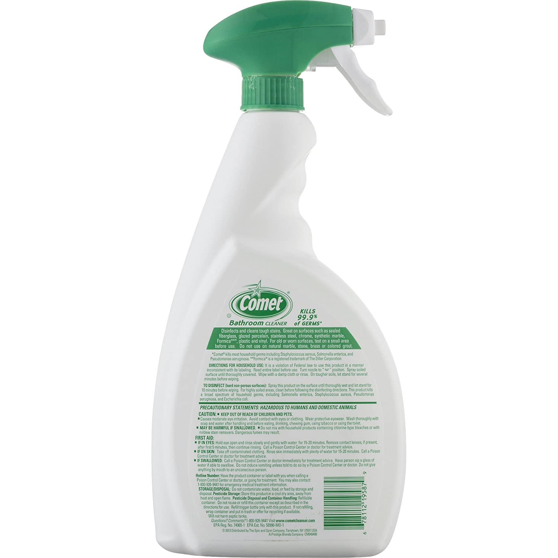 Amazon.com: Comet Bath Cleaner Spray, 32 Ounce: Health & Personal Care