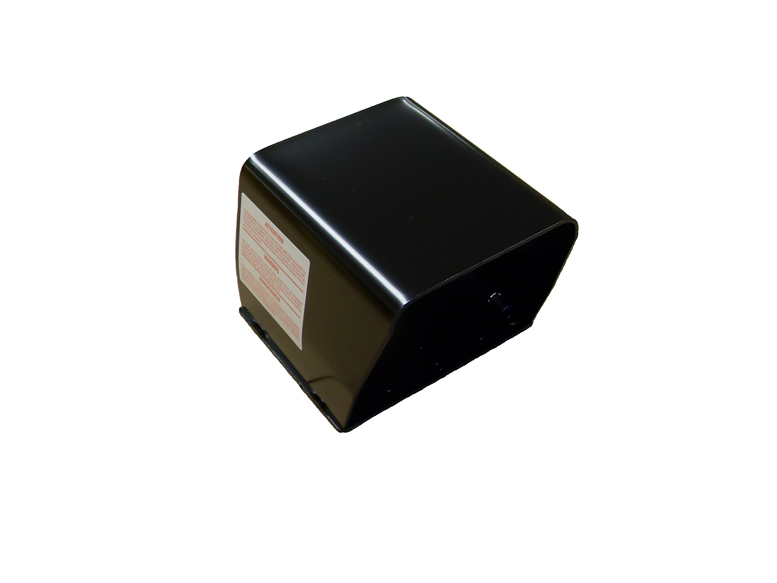 ConnTrol 864-1000-02 Single Foot Switch Steel Guard, Black