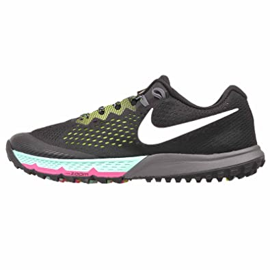 Nike Women's Air Zoom Terra Kiger 4 Running Shoe (7.5, Black/ Volt/