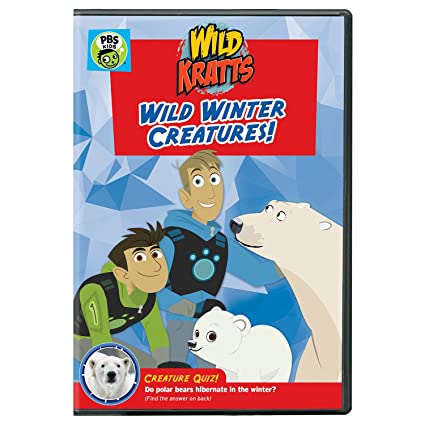 Wild Kratts: Wild Winter Creatures! DVD