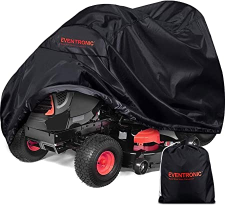 """Green Riding Lawn Mower Cover Garden Tractor Fabric Weather Resist for 54/"""" Decks"""