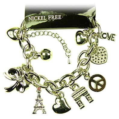 Amazon souvenirs of france paris monuments bracelet souvenirs of france paris monuments bracelet material metal publicscrutiny Images