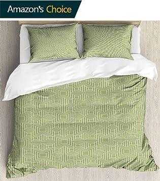Amazon.com: Juego de cama de 3 piezas con funda de edredón ...