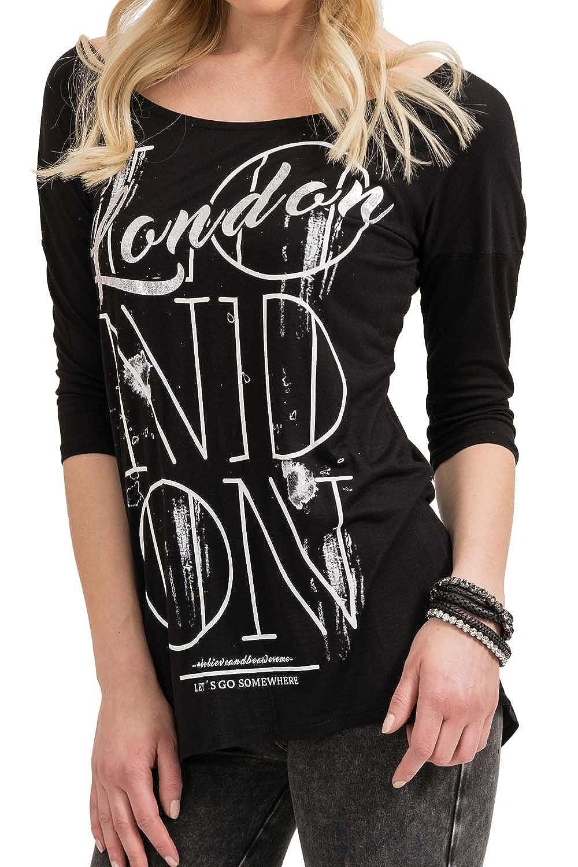 TALLA XS. trueprodigy London Let's Go Camiseta para Mujer