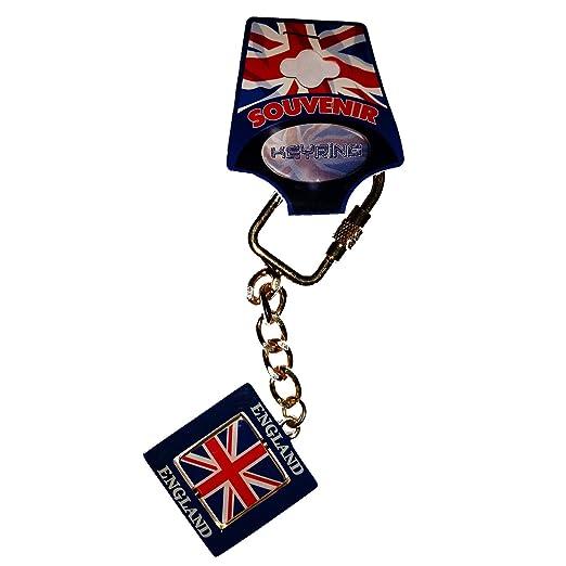 Llavero de Recuerdo de Londres con la Bandera de Inglaterra ...