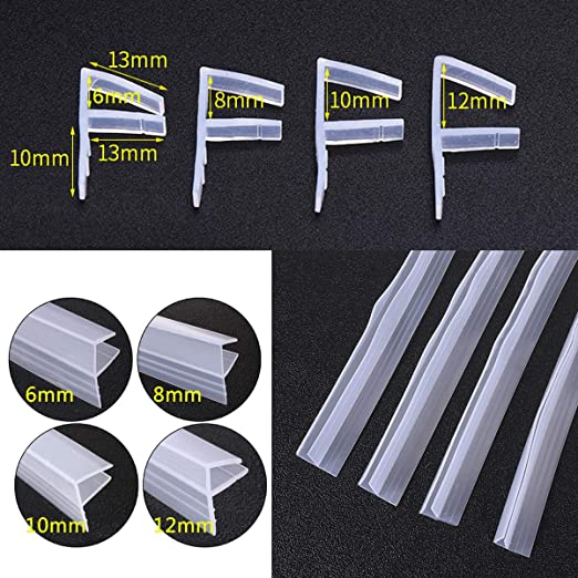 dDanke - Tira de sellado flexible para mampara de ducha (100 cm de ...