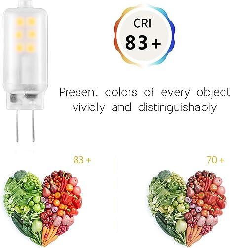 8stk G9 LED Birne 5W 2835 Lampen Kein Flackern 400LM Warmweiß 3000K Leuchtmittel