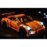 Porsche 911 GT3 RS Lighting Kit for LEGO 42056 Set (LEGO Set NOT Included!) by Brick Loot